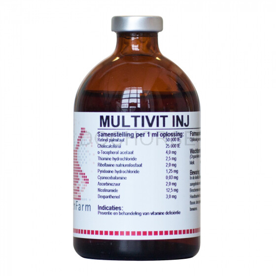 Feramed Multivitamine Injectie 100 Ml Dochorse